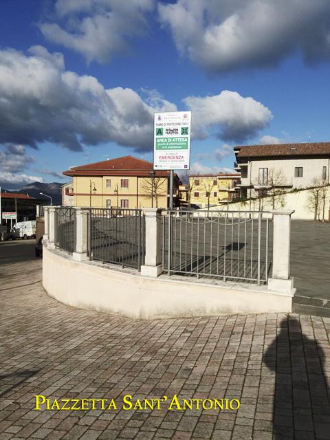 Area di attesa Piazzetta Sant'Antonio